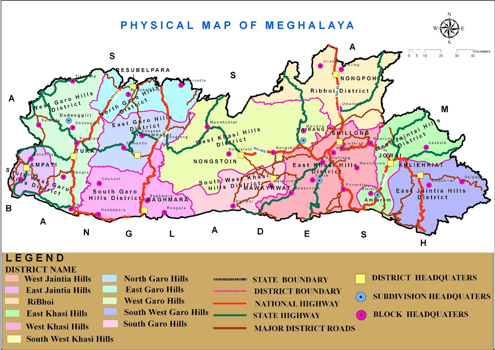 South West Garo Hills District